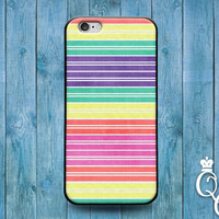 iPhone 4 4s 5 5s 5c 6 6s plus + iPod Touch 4th 5th 6th Generation Cute Custom Rainbow Stripes Cool Phone Cover Gay Pride Girly Girl Boy Case