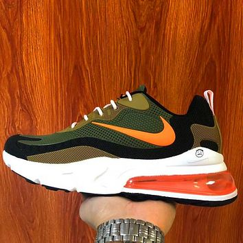 Nike air max 270 Breathable casual running sneakers barb Green