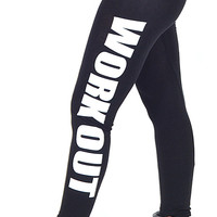 OM Work Out Leggings