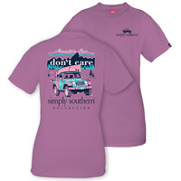 Simply Southern Preppy Mountain Hair Jeep T-Shirt