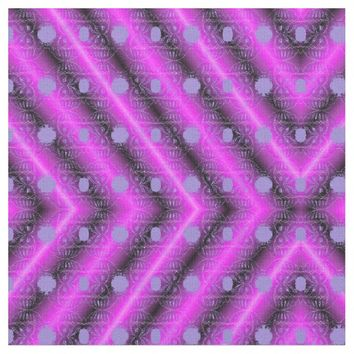 Pink modern diamond pattern fabric