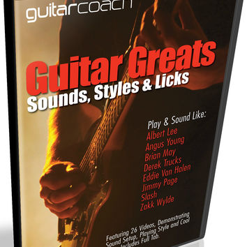 Learn To Play Guitar Like Albert Lee Angus Young Brian May Derek Trucks Eddie Van Halen Jimmy Page Slash Zakk Wylde