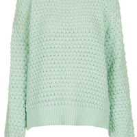 Knitted Bobble Stitch Jumper - Knitwear - Clothing - Topshop USA