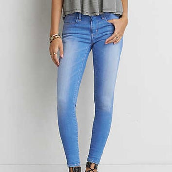 AEO Denim X Café Jegging, Super Vivid