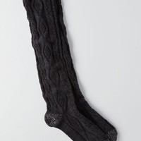 AEO Women's Cable Knit Boot Sock