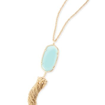 Rayne Gold Long Necklace in Cobalt Blue | Kendra Scott