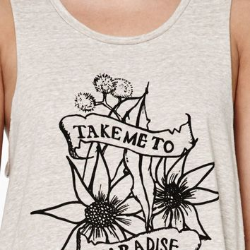 MinkPink Take Me To Paradise Muscle Tank Top at PacSun.com