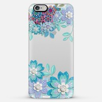 winter flowers iPhone 6 Plus case by Sylvia Cook | Casetify
