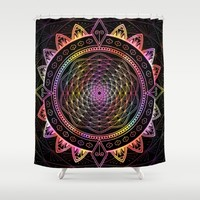 INFINITE DREAM Shower Curtain by Inspired Images