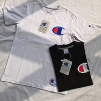 Champion Embroidery Big Logo Short sleeve T-shirt