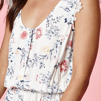 Kendall and Kylie Button Front Romper at PacSun.com