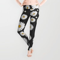 Daisy Leggings by Sara Eshak | Society6
