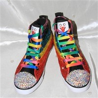 Rainbow Brightest High Top Shoe