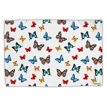 Watercolor Butterflies AOP Standard Size Polyester Pillow Case All Over Print