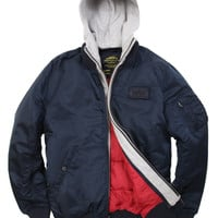 Alpha Industries - MA-1 D-TEC Jacket (Replica Blue)