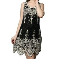 Whitewed 1920 1920s Sequin Embroideried Vintage Flapper Tunic Dresses Costumes