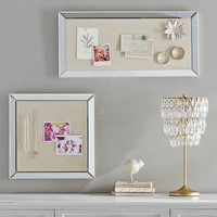 Mirror Framed Pinboard