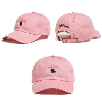 ESBC8S Pink The Hundreds Rose Strap Cap Adjustable Golf Snapback Baseball Hat
