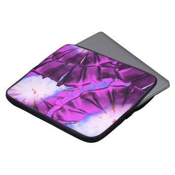 Cool Fun And Cute Purple Jellyfish Laptop Computer Sleeves