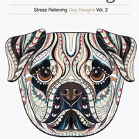 Doodle Dogs:: Stress Relieving Dog Designs Premium Edition