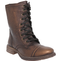 Chimney Bronze Tone Combat Boot