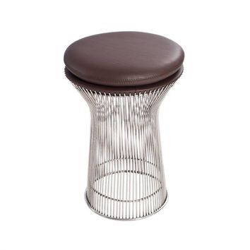 Platner Stool - Leather - Reproduction | GFURN