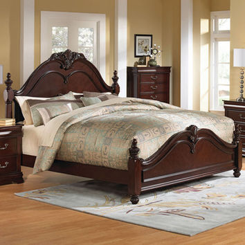 Standard Furniture Westchester Poster Bed in Cherry