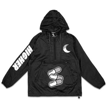 Limitless Windbreaker in Black