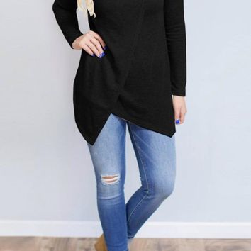 Happy Ever After Top - Black