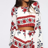 Charla Floral Two Piece Outfit