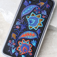 Zero Gravity Bohemia Blue Embroidered iPhone 7 Case