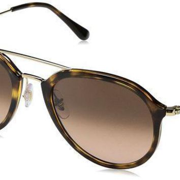Ray Ban Rb4253 Highstreet Aviator Sunglasses