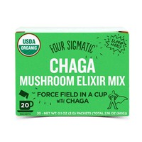 Four Sigmatic Organic Mushroom Elixir Mix with Chaga - 20 packets