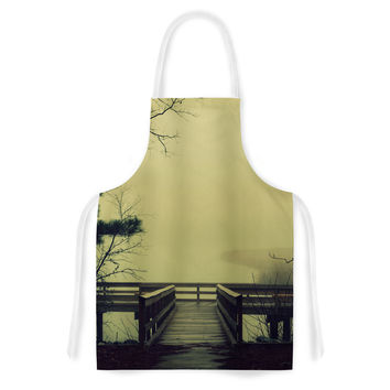 "Robin Dickinson ""Fog on the River"" Artistic Apron"