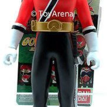 Power Rangers Samurai Sentai Shinkenger Shinken Red Soft Vinyl Action Figure