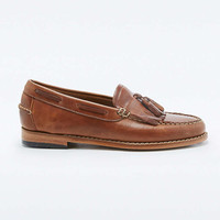 Bass Weejuns Esther Tan Fringe Loafers - Urban Outfitters