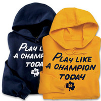 Notre Dame Fighting Irish P.L.A.C.T. Hooded Sweatshirt
