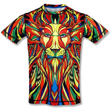 INKnBURN Men's Lion Tech Shirt