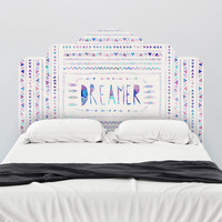 Bianca Green Dreamer Headboard Wall Decal