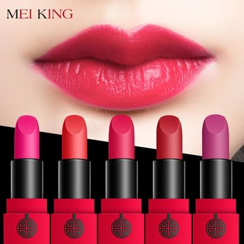 MEIKING Matte Lipstick Velvet High Quality Waterproof Long Lasting Moisture Beauty Lipsticks Cosmetic Lips Matte Makeup Batons