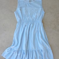 Bohemian Blue Dress [6766] - $36.00 : Feminine, Bohemian, & Vintage Inspired Clothing at Affordable Prices, deloom