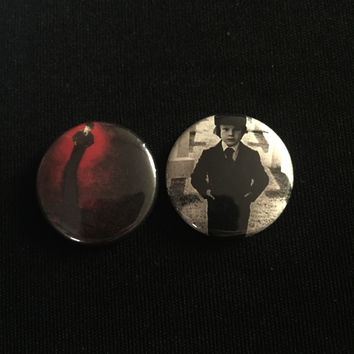 "THE OMEN 1"" buttons"