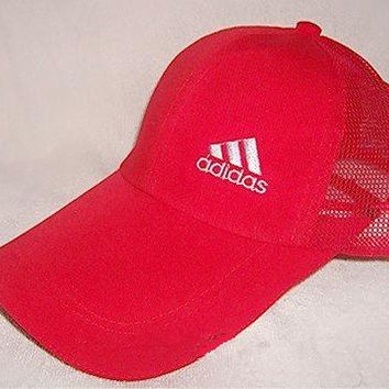"""Adidas"" Fashion Casual Simple Unisex Letter Embroidery Cotton Tongue Cap Hat Sunhat Baseball Cap"