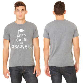 Class Of 2015 Keep Calm and Graduate T-shirt