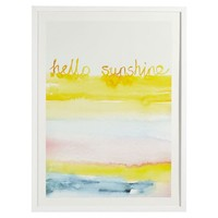 Hello Sunshine Wall Art by Minted®