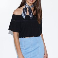 Kendall & Kylie Paneled Denim Mini Skirt at PacSun.com
