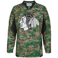 Chicago Blackhawks Reebok Veteran's Day Practice Jersey - Digital Camo