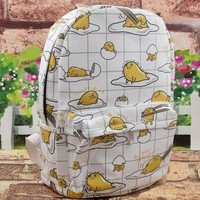 Kawaii Gudetama Canvas Backpack SP1812269