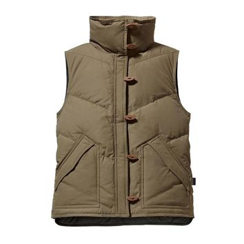 Patagonia Women's Toggle Down Canvas Vest
