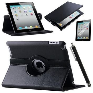 Case Cover For Apple iPad Air 2/iPad 6 (2014) PU Leather Flip Smart Stand
